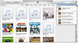 "The new iTunes navigation, even no ""tree like"" navigation. Search is almost the only way."